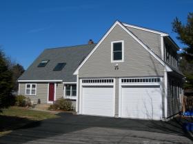 Home after garage addition