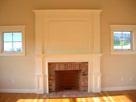Old New England Fireplace