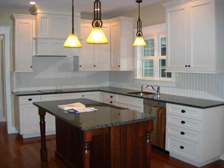 Kitchen of a home built by Gilmore Building Co.