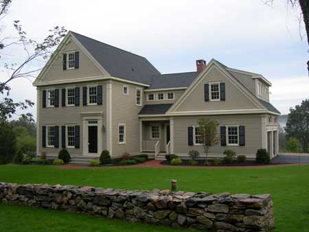 Image of a new old home style