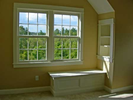 Built-in Window Seat New-Old Home