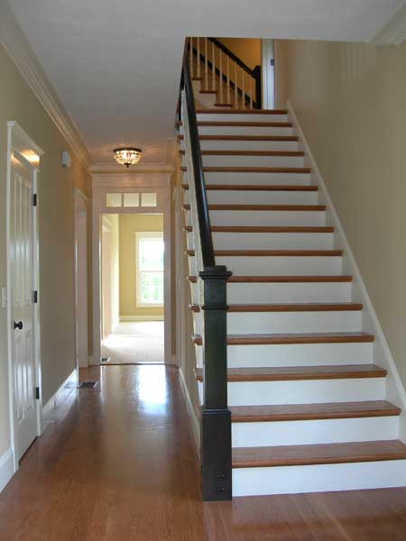 Traditional Acrchitecture Detailed Staircase