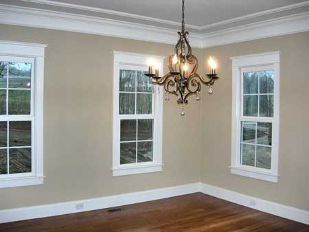 Dining Room Millwork Greek Revival Style