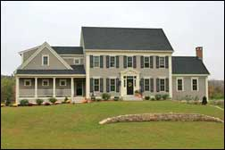 Custom home builder Grafton | Classic early New England home
