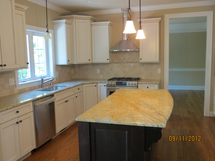 Kitchen new homes Boylston MA