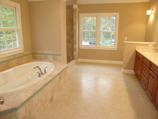 Photo of owner inspired custom design new home - Master bath photo