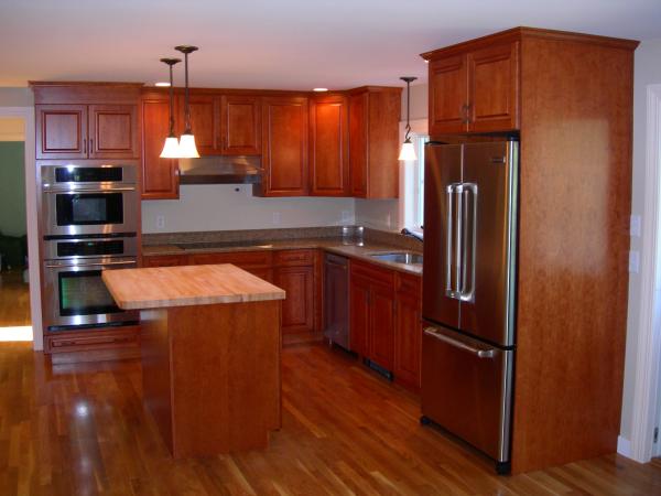 Photo of garage addition - kitchen upgrade view