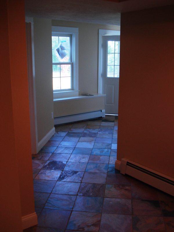 Photo of home lower level conversion to Rec Rm - new entrance view