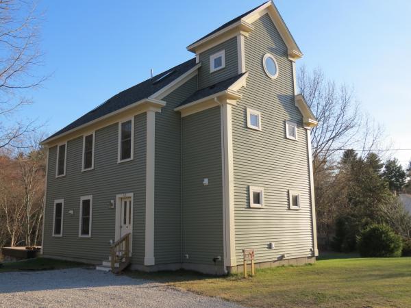 Photo of new home, school house design